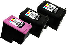3PK Ink Cartridge FOR HP 901 HP901 CC653AN CC656AN Officejet J4524 J4580 J4680