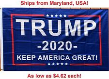3x5 Ft Trump Flag 2020 - Keep America Great Flag - Elect Donald USA President