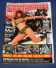 STREETFIGHTERS MAGAZINE MAY 2007 - HORNET, CBX 1000, GSX EFE AND YAM R1