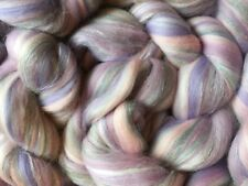 Pastel Lilac Shimmer - Merino Wool Mix  for Needle/Wet Felting & Spinning