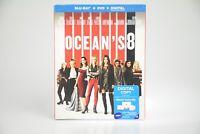 Oceans 8 [New Blu-ray + DVD] No Digital