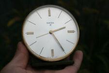 Vintage SWIZA 8 Day Alarm Clock - Swiss Made - Working
