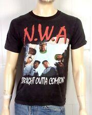 vtg 90s rare BOOTLEG NWA Straight Outta Compton T-Shirt Rap Tee tour EZE cube S