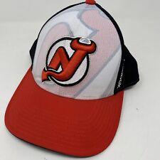 New Jersey Devils NHL Hockey Logo Reebok Adjustable Cap Hat