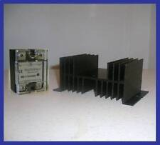 Solid State Relay SSR 80A PID Temperature Controller Heat Sink Amper Amp
