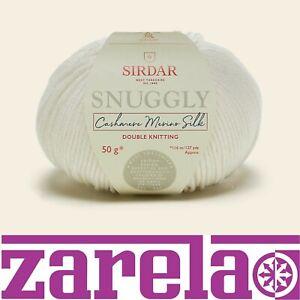 Sirdar Snuggly Cashmere Merino Silk DK Knitting Yarn Wool ****ALL COLOURS****
