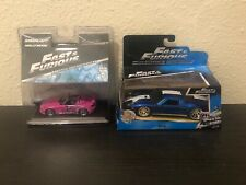 Fast and Furious (2) Die Cast Cars Jada/Greenlight 2016