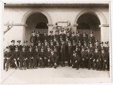 ROMA FOTO 1937 CARABINIERI UFFICIALI MILITARI 1 PL LEGIONE ALLIEVI FASCISMO WWII