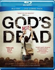 God's Not Dead Blu-Ray + DVD 2 Disc SET Kevin Sorbo Shane Harper MOVIE