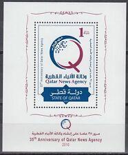 Qatar 2010 ** Bl.72 News Agency