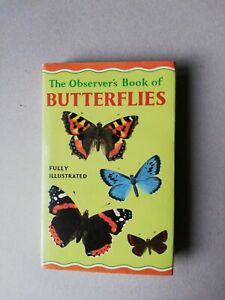 The Observer's book of Butterflies 1971 glossy jacket edition