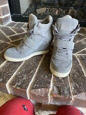 Ash Cool Sneaker 9 39 Hidden Heel Gray Suede