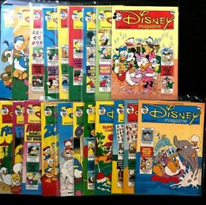 UK Disney Magazine Lot #'s 75,76,77,78,79,81,90,91,92,93,94,95,96, Plus More!!!!