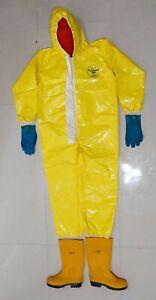 DuPont Tychem Br Químico Protección Traje Seguridad Suit