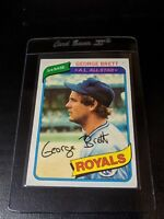 1980 Topps #450 George Brett Royals EX