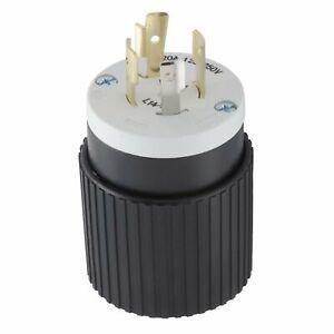 Hubbell Bryant Twist Turn Locking Plug NEMA L14-20P L14-20 125/250V 20A L1420PZ