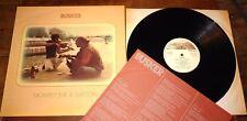 Mowrey Jnr & Watson ~ MUSICISTA AMBULANTE ~ UK Riverdale privato FOLK LP 1976 con inserto