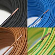 Lapp flexible Verdrahtungsleitung H07V-K schwarz, blau, braun, grün/gelb