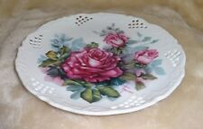 Beauty In Bloom Classic Roses Flower Plate Lyn Moser Bradford Exchange
