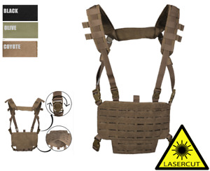 MIL-TEC Nex Gen Chest Rig Laser Cut Airsoft Paintball Army Vest Kampfweste