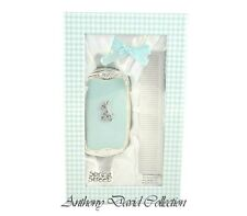 It'S A Boy - Baby Infant Blue First Brush & Comb Set with Crystal Baby Giraffe