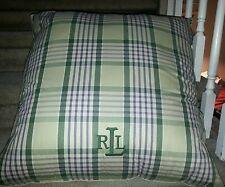 HUGE Ralph Lauren Polo HUGE Pillows Bedding Housewares New with Original Tags!!