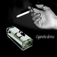 70mm Easy Handroll Zigarette Tabak Rollenmaschine Roller Maker ZIG-ZAG Neu Y6V6