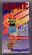 Diane Horner Country Line Dance Aerobics VHS Electric Slide Tush Push 45 mins
