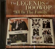 The LEGENDS OF DOOWOP - All in the Family - 25 Tracks on CBR #1099