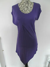 RED HERRING - PURPLE SHORT SLEEVED BEACH  Dress Size 12