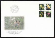 Norway 1997-2000 4x Fdcs Flowers - Set Of 18