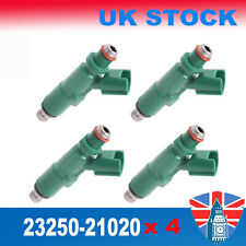 4 x PETROL FUEL INJECTOR For Toyota Yaris Verso Prius Vitz 1999-2009 23250-21020