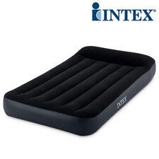 INTEX Classic Pillow Single Luftbett 191x99x25cm + 230V Pumpe Gästebett Bett