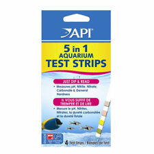 API 5 in 1 Teststreifen Set Aquarium pH Nitrat Nitrit GH KH 4 pcs