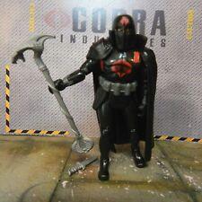 GI JOE ~ 2008 COBRA COMMANDER ~ BLACK COLLECTORS CLUB EXCLUSIVE 100% COMPLETE