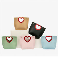 Candy Color Love Heart Small Crossbody Bag for Ladies Girls Messenger Bag