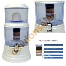 Countertop Water Filter Purifier Alkaline Ionizer Filtration System Kitchen Home
