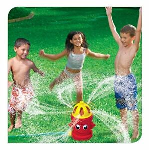 BANZAI SILLY SPRAY RED FIRE HYDRANT HOURS OF SPRINKLING FUN UK SELLER