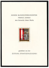 Ö.1965 JONASBLOCK mit 3zeiliger Überschrift TOP-Erhaltung ! siehe Bild >>