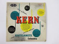 Andre Kostelanetz And His Orchestra Plays Music Of Jerome Kern Vinyl Record 1955