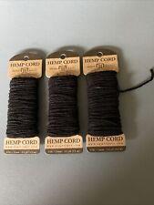 Hemp Cord 20lb 120/' Neon 091037333469