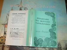 Mey & Poindessault: Répertoire des monnaies napoléonides