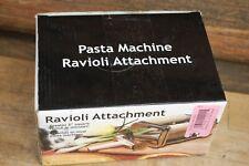 """NEW: WESTERN BRAND 2"""" SQUARE RAVIOLI ATTACHMENT PASTA MACHINE"""