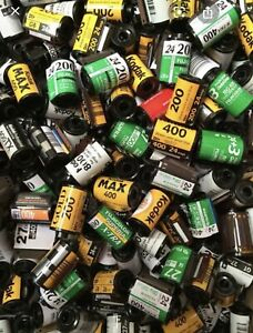 X50 35mm Film Canisters - empty