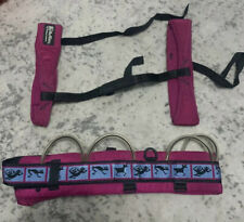 BlueWater Climbing Harness Size L, with Bag