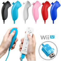 Nunchuck Wii Nunchuk Video Game Controller Remote for Wii & Wii U Console