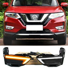 Exact Fit Nissan Rogue X-Trail 2017-18 Switchback LED DRL Lights w/ Turn Signals