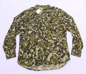Duck Camp Men's Long-Sleeve Lightweight Hunting Shirt KT4 Wetland Large NWT