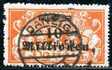 DANZIG 1923 168 gestempelt TADELLOS BEFUND INFLA SOECKNICK BPP 120€(J8695
