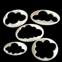 5x Cloud Cake Cutter Mold Fondant Pastry Cookie Sheep Mould Decor DIY ToolDLUK